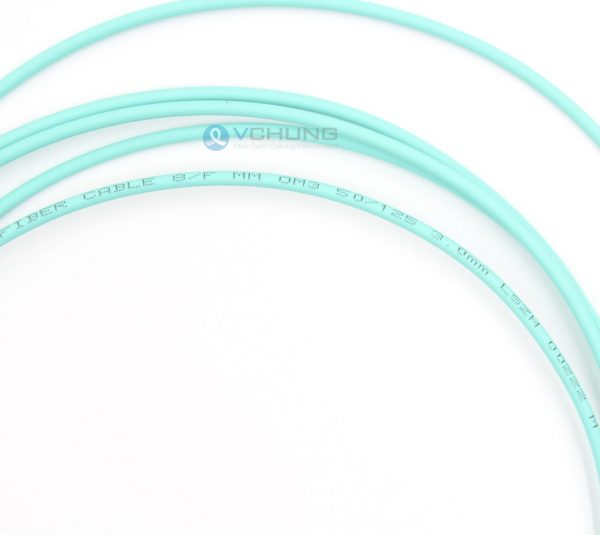 MT Male to Female OM3 50/125um Multimode 8 Fibers MPO Trunk Pre-Terminated Cable For AOC Patchcord