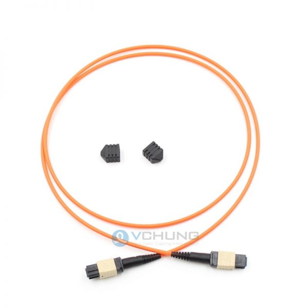 MPO 12-Fibers OM2 50/125um Multimode 3.0mm Ttrunk Type-B Pre-Terminated Cable