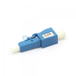 Plug Type Fixed 1dB to 30dB Single-Mode LC UPC Fiber Optic Attenuator