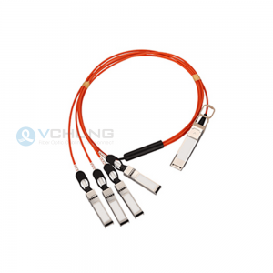 For Cisco QSFP-4X10G-AOCxxM 40G QSFP+ to 4x10G SFP+ Breakout Active Optical Cable (AOC)