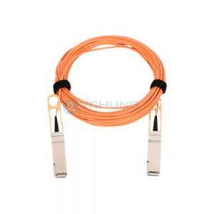 For H3C QSFP-H40G-AOCxxM Compatible 40G QSFP+ OM3 Multimode 3.0mm Trunk Active Optical Cable (AOC cable)