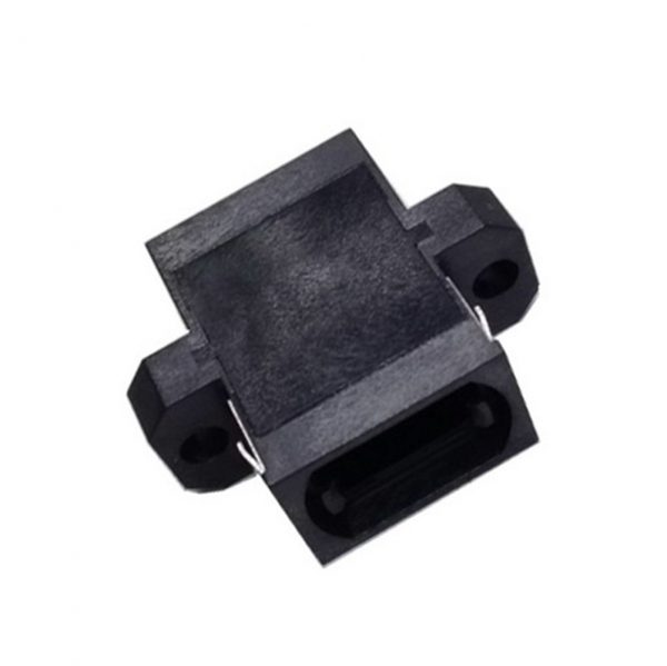 12Core and 24Core Flange Type Black Color MPO Fiber Optical Adapter