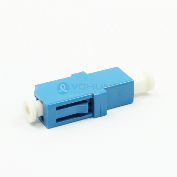 LC Simplex Blue Color Singlemode Adapter no Flange(Welding Type)
