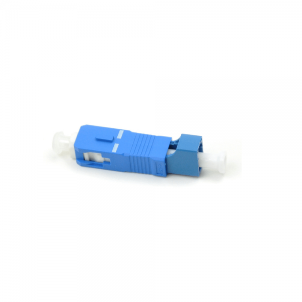Hybrid adapter male to female SC(Male)-LC(Female) simplex Fiber optical hybrid adapter