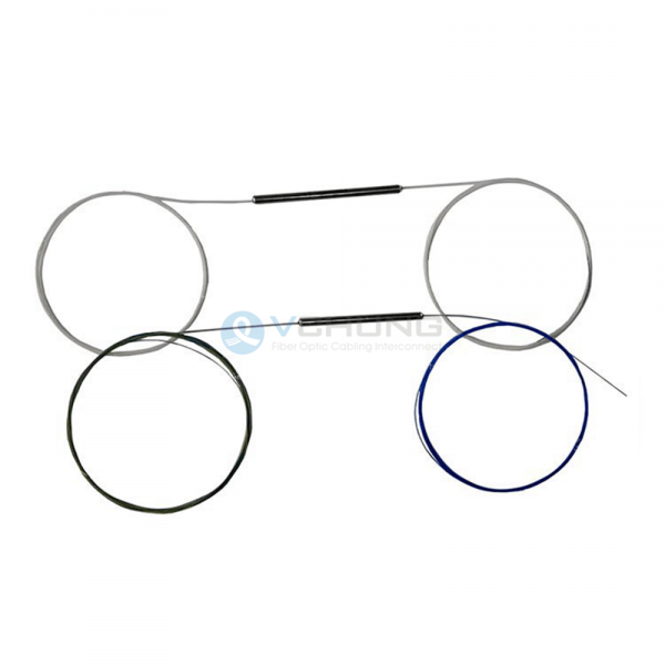 1x2 Dual Window OR 1x3 Three Window SMF 28e Fiber Optical Fused Biconic Taper(FBT) Coupler