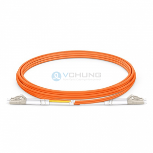 OM1 62.5/125um optical fiber patchcord 2.0mm duplex LSZH orange cable