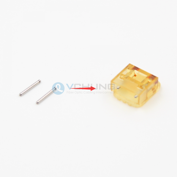 MPO GUIDE PIN L6.5mm multimode used for Lens array ferrule 12 cores