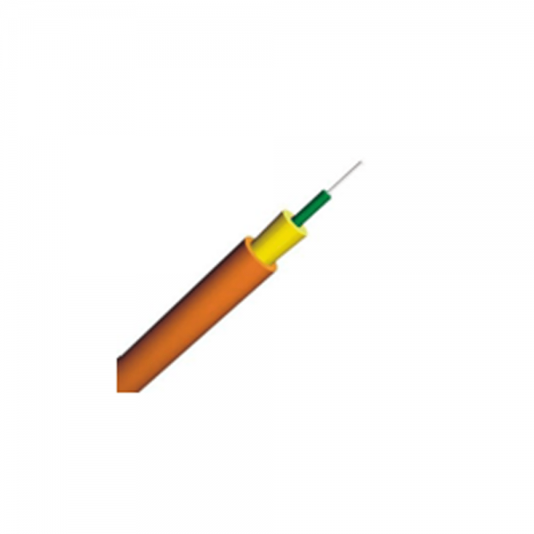 Indoor Optic Fiber Cable GJFJV(H) simplex cable 2.0mm jacket