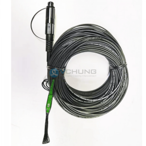Single-mode G.657A1 Flat drop cable Super Tap SC APC Compatible With Corning OptiTap Cable