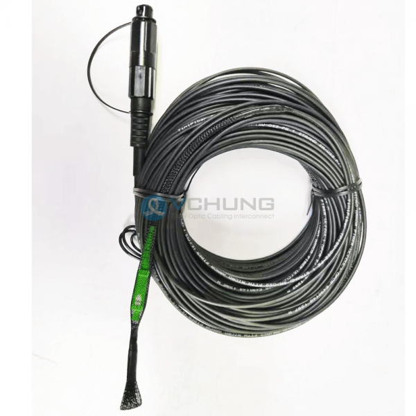 Single-mode G.657A1 Flatdropcable Super Tap SC APC Compatible With Corning OptiTap Cable